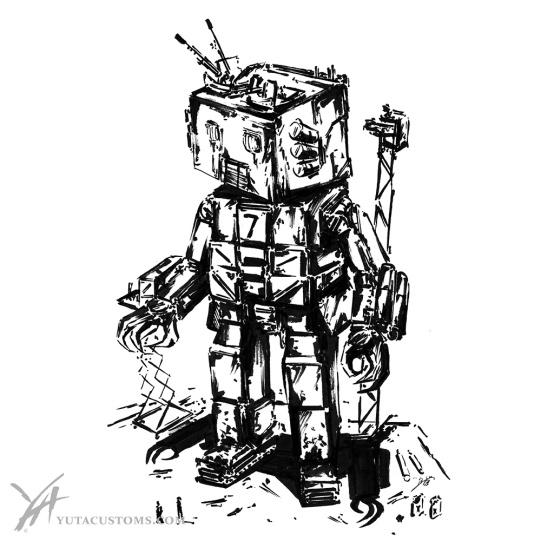 Tin Robot Tank