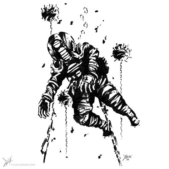 Diver w/Seamines